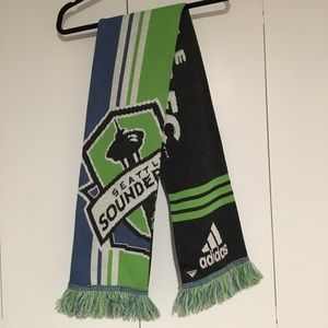 Adidas Seattle Sounders FC Soccer Scarf